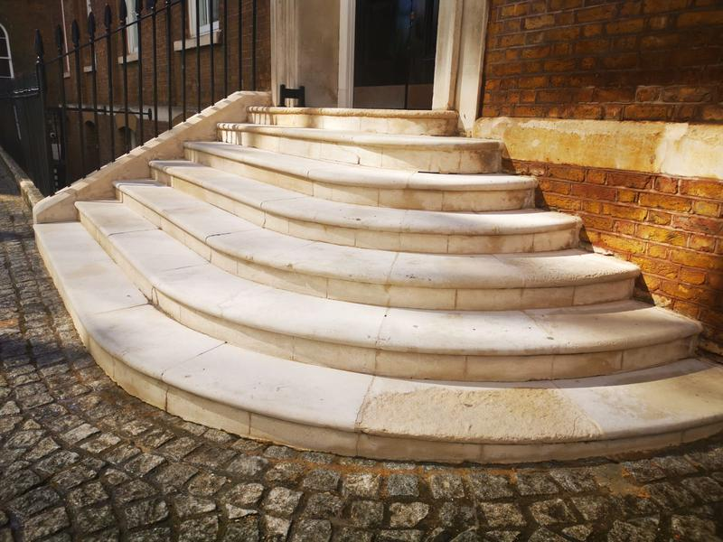 Image 4 - After cleaning entrance stone steps