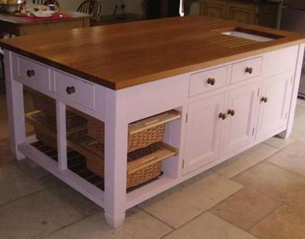 Image 9 - Bespoke kitchen island NW9