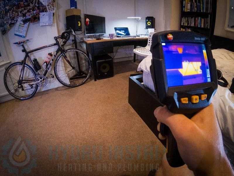 Image 34 - Thermal imaging checkup after all our boiler installation and powerflushes