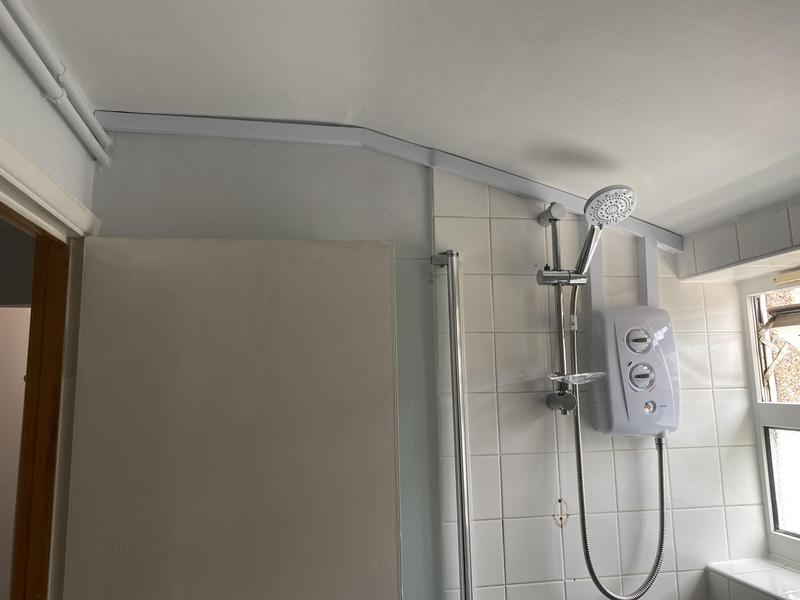 Image 39 - New electric shower fitted in a Camberwell property.
