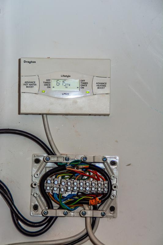 Image 16 - Programmer installed on a system boiler