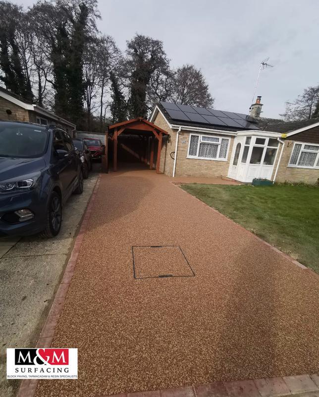 Image 54 - Resin bound driveway