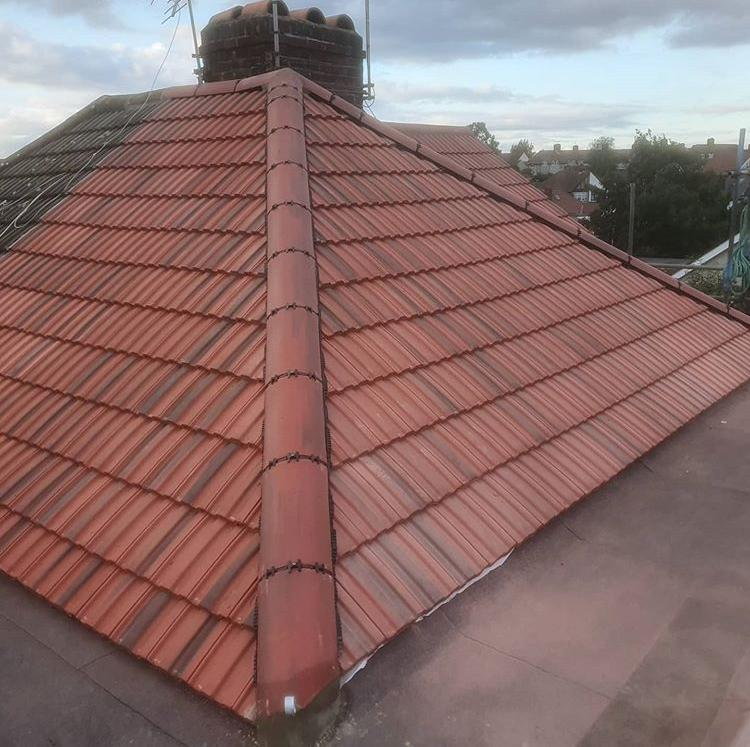 Image 18 - New roof after