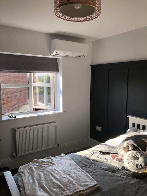 Image 16 - Mitsubishi bedroom wall mounted unit