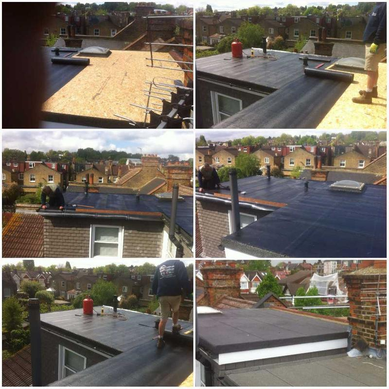 Image 15 - New 3 Layer Felt Flat Roof SW19 With A Ten Year Insurance Back Guarantee