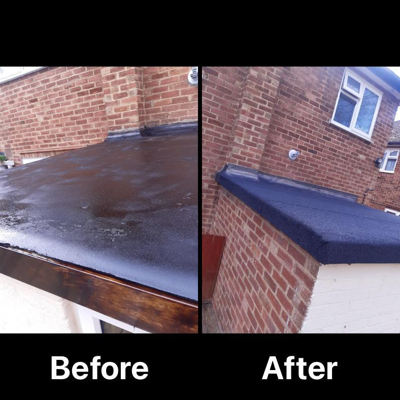 Image 4 - New flat roof