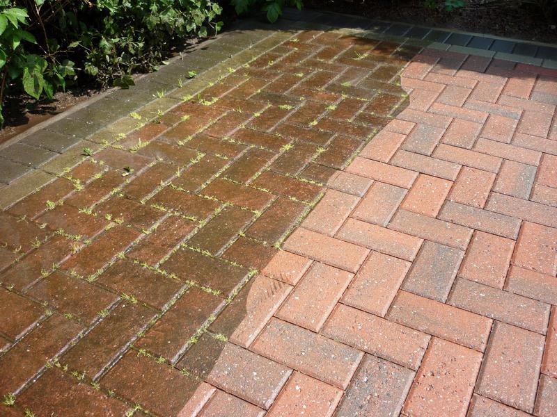 Image 14 - Before and after pressure washing