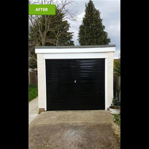 Image 139 - All works completed to garage door and surround