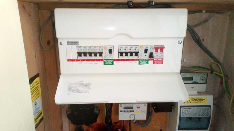 Image 6 - Consumer unit upgrades.Up to date and safe!