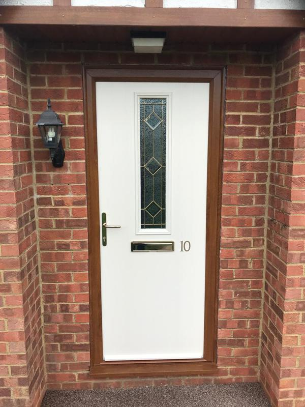 Image 12 - Stunning New White Composite Door