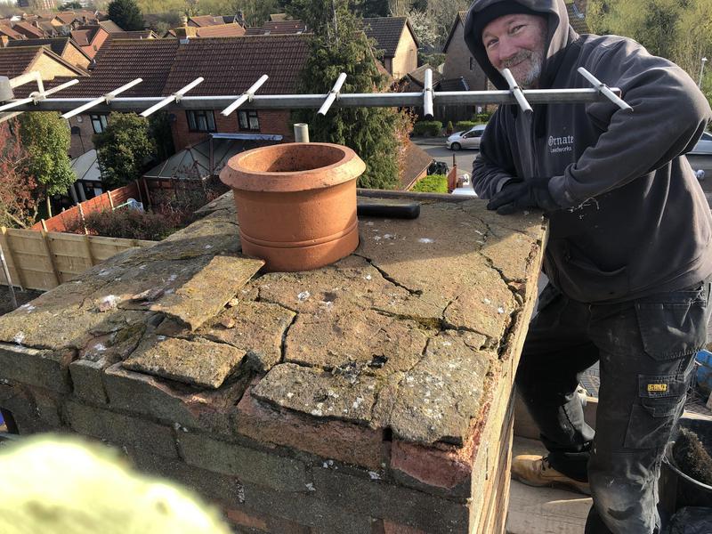 Image 1 - Faulty chimney flauching