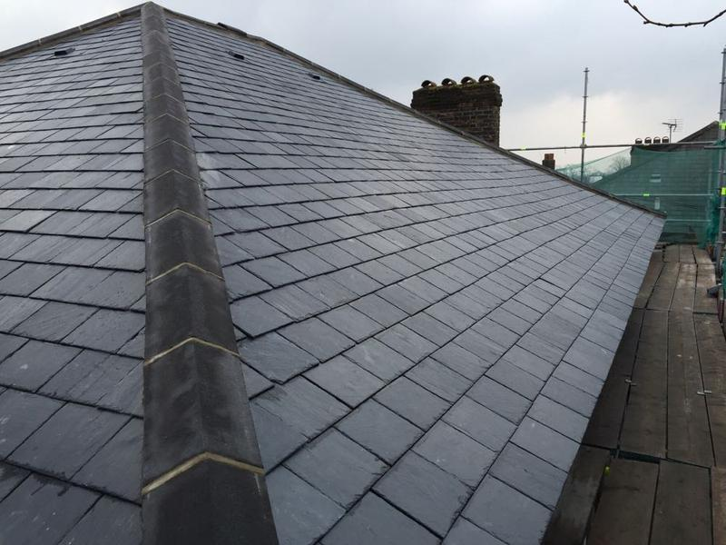 Image 40 - Re-Roof Using Natural Spanish Slates - West Hampstead, London