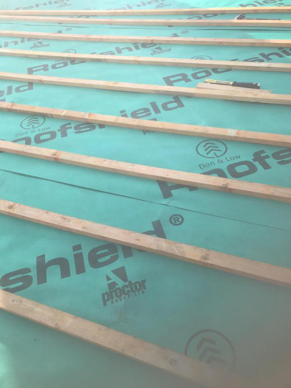 Image 5 - Nee roof shield and battens