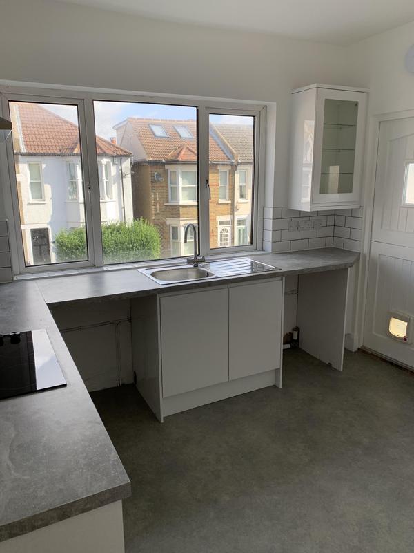 Image 26 - New kitchen in full flat Refurb