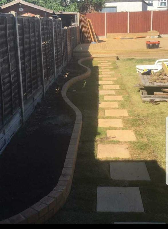 Image 27 - garden refurbishment ( Sutton)