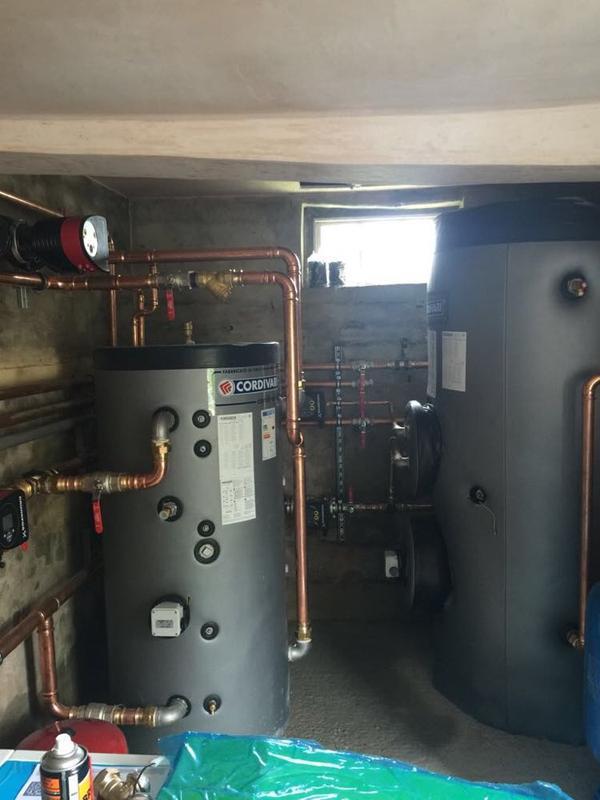 Image 11 - Cordivari Calorifier Installation with Buffer Vessel