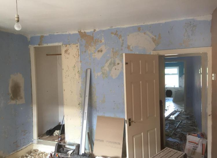 Image 58 - Whole house skimmed and floor replaced