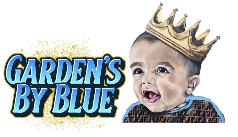 Garden's By Blue logo