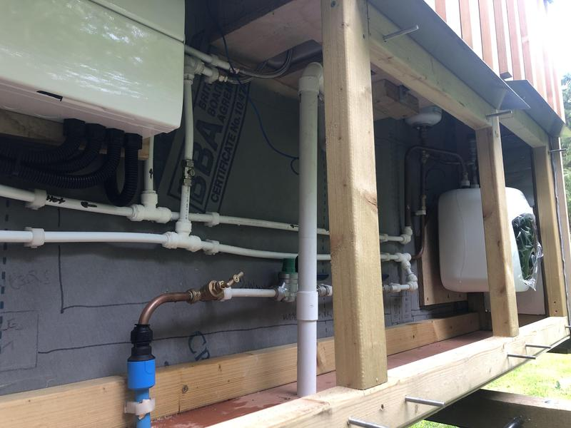 Image 15 - Shepherds hut install