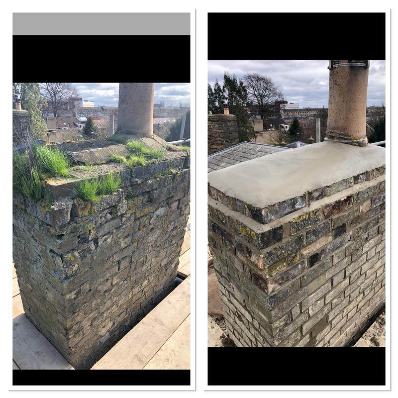 Image 31 - Chimney restoration.