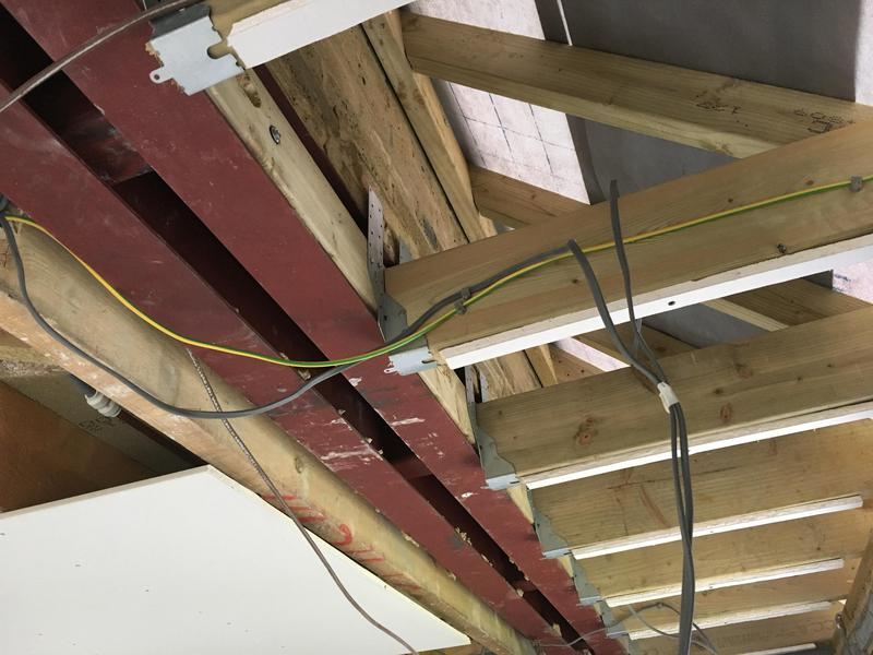 Image 21 - Steels installed at ceiling level for clients in Great Dunmow.