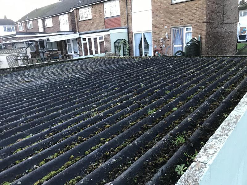 Image 34 - Asbestos roof