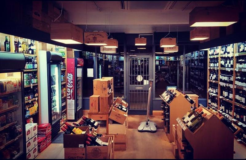 Image 32 - Some very creative shop lighting made from old wine boxes