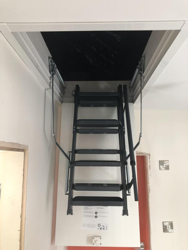 Image 20 - Everyone needs that extra storage space these days. If you're looking to make a bit more room in your home, then we can help you to create the space you need to live a mess-free lifestyle. Loft ladder installation.