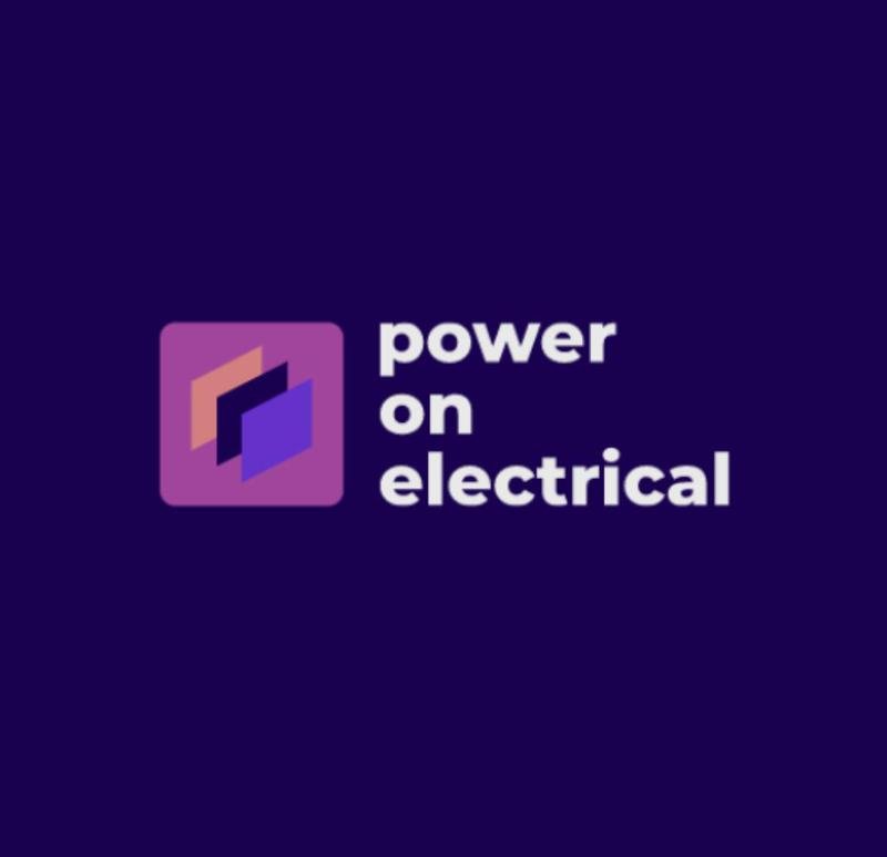 Power on Electrical logo