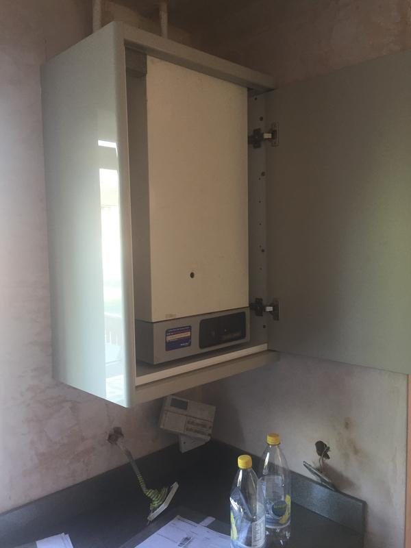 Image 9 - If you have a unsightly boiler why not box it in with a unit made to messure