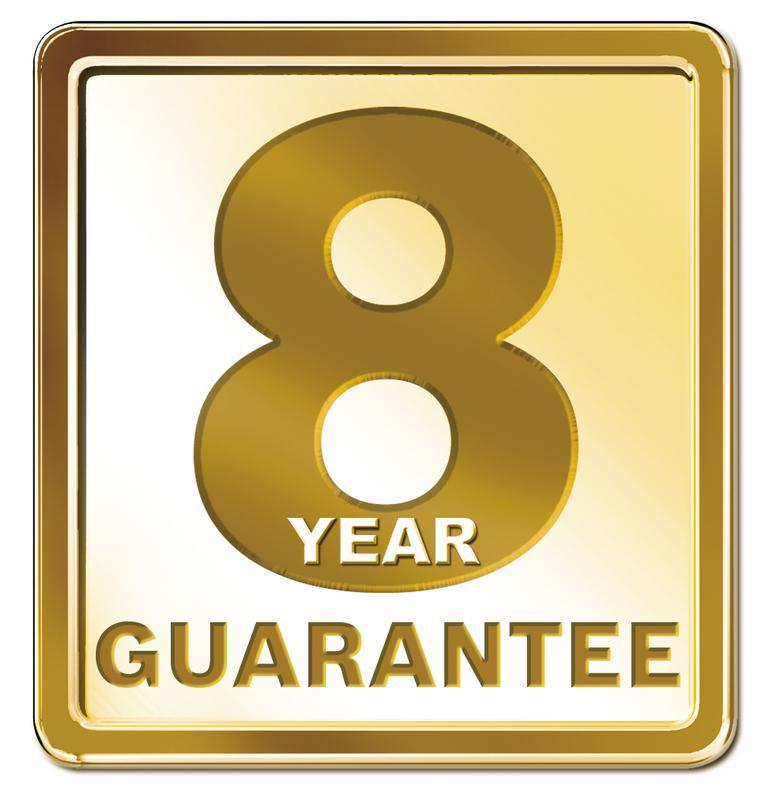Image 5 - 8 year warranty on parts and labour