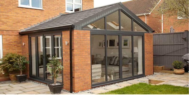 Image 8 - Gable end conservatory Warmer Roof Tiled Conservatory Roof