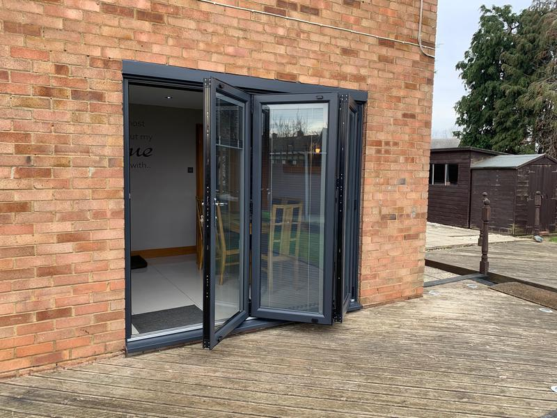 Image 22 - Basildon- Bi-folding Doors-Anthracite Grey.