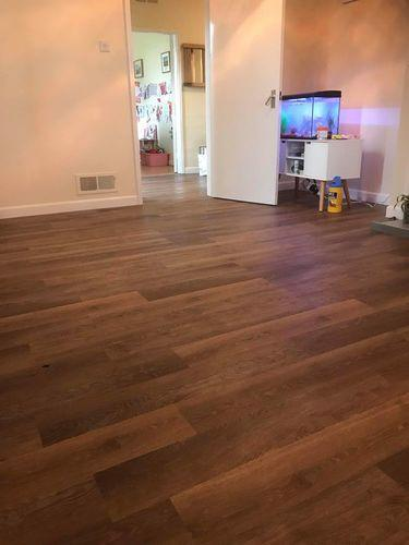 Image 15 - Karndean Van Gogh wood effect vinyl flooring. Low maintenance, ideal for a family home