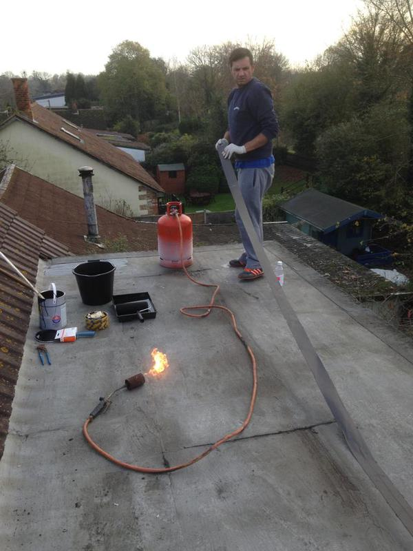 Image 29 - Flat roof Repaire with flashing