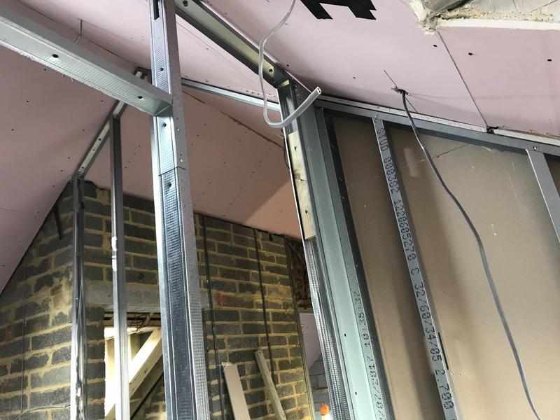 Image 31 - Metal stud walls