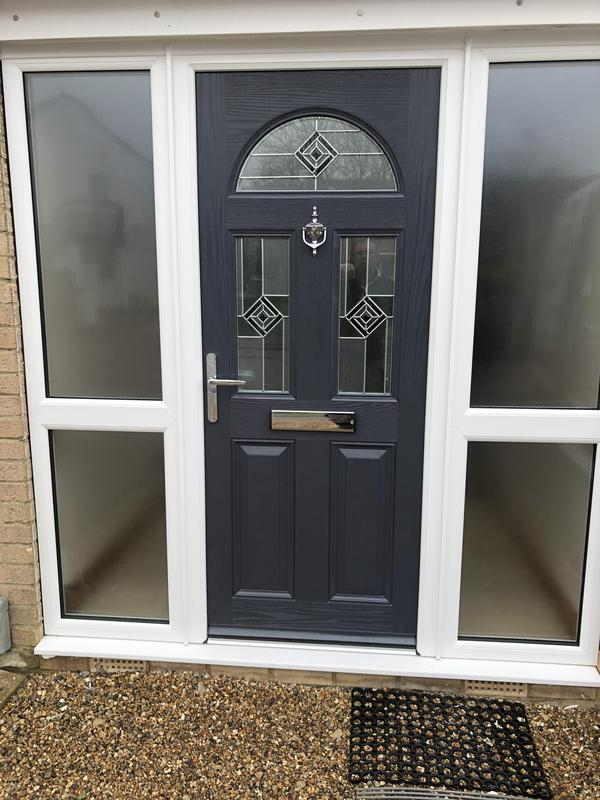 Image 96 - Composite door with side panels