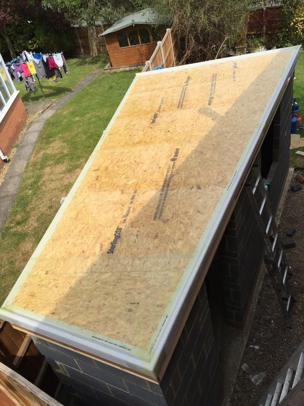 Image 36 - Small GRP Shed Roof - Stevenage, Hertfordshire
