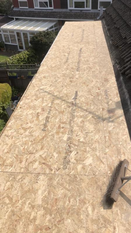 Image 26 - New OSB deck ready for EPDM