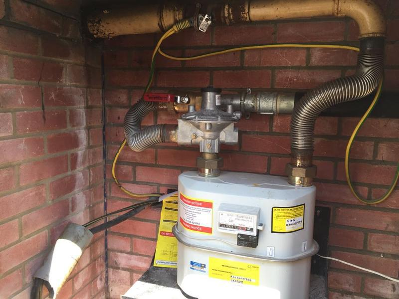 Image 17 - Faulty Gas Pipework 2 of 3