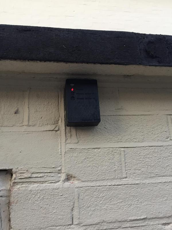 Image 2 - Pir sensor installed for external lighting