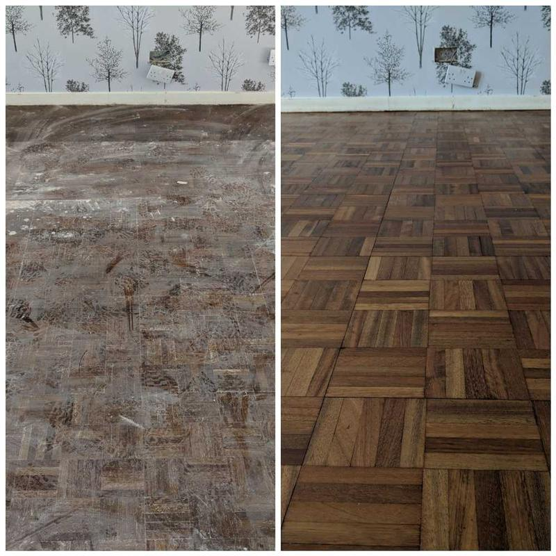 Image 37 - Parquet floor sanding services