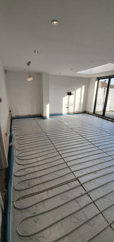 Image 7 - Underfloor heating system in a lounge / dinning area all controlled on one zone with one thermostat separated from the rest of the property