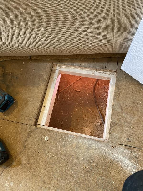 Image 11 - Chipboard floor repair