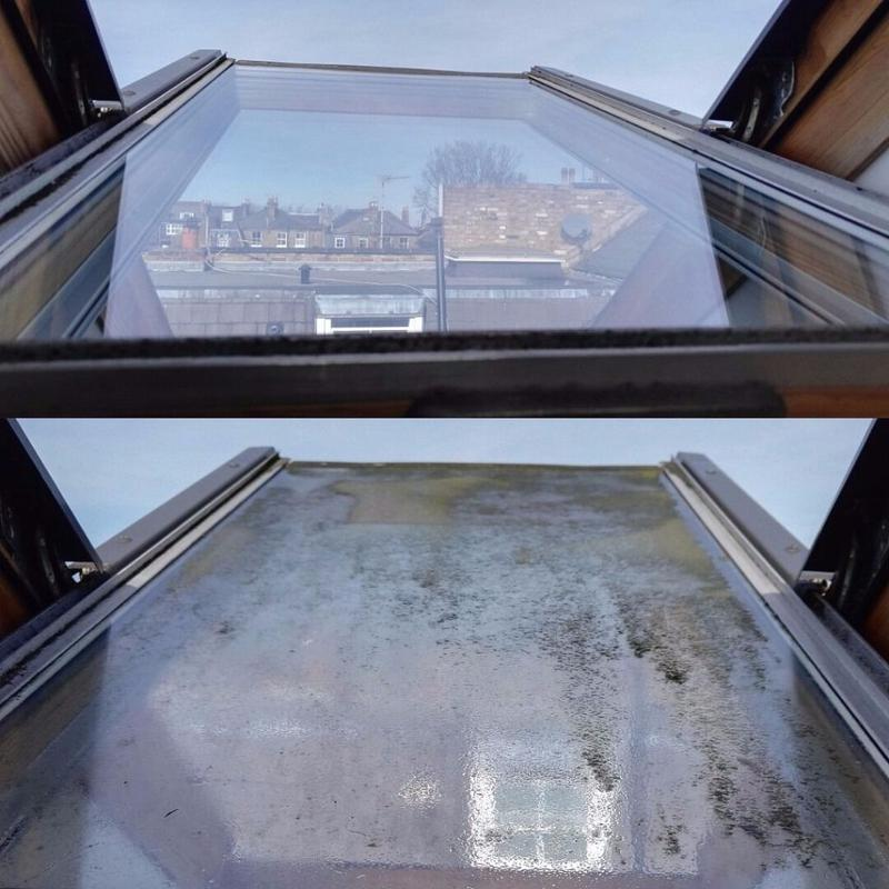 Image 1 - Velux window before and after