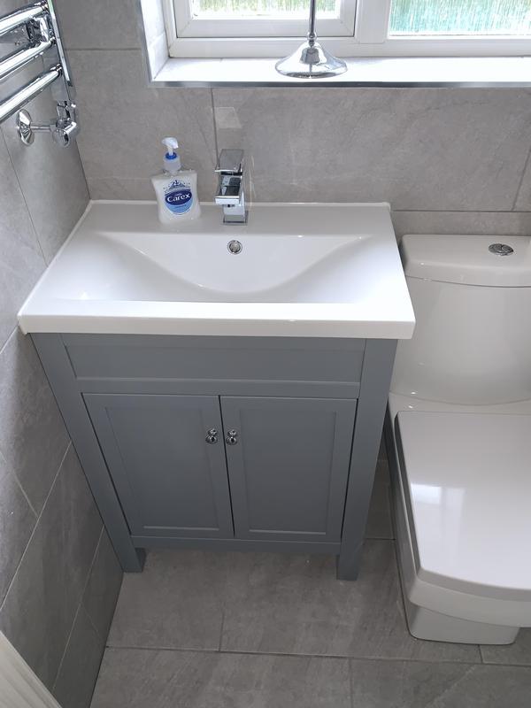 Image 31 - After. Crayford, Bareburn Park. Bathroom refurb