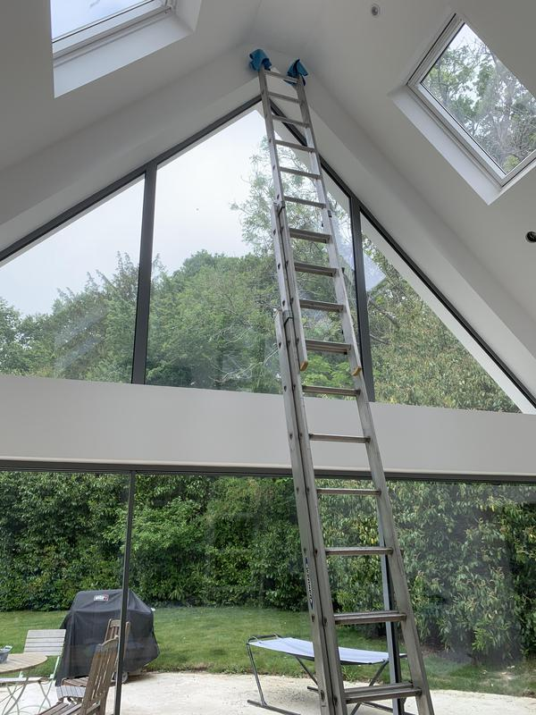 Image 26 - Internal high access window cleaning