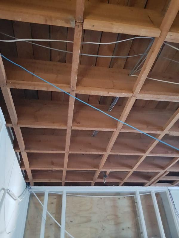 Image 6 - Clean removal of asbestos Artex ceiling