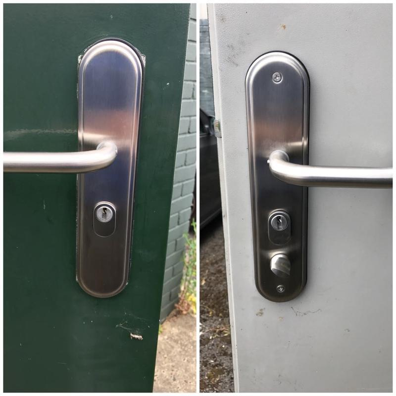 Image 12 - Broken Handles Replaced On A Commercial Property In Collier Row