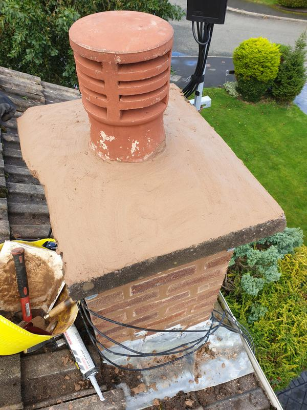 Image 36 - Chimney repointed